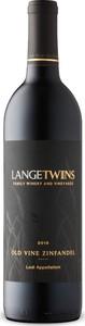 Lange Twins Old Vine Zinfandel 2015, Lodi Bottle