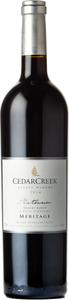 CedarCreek Platinum Desert Ridge Meritage 2014 Bottle