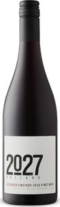 2027 Cellars Pinot Noir Edgerock Vineyard 2016, VQA Twenty Mile Bench Bottle