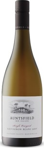 Auntsfield Single Vineyard Sauvignon Blanc 2017, Southern Valleys Bottle