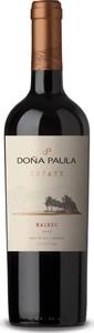 Doña Paula Estate Malbec 2016, Valle De Uco, Mendoza Bottle