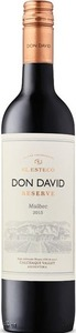 Don David Malbec Reserva 2017, Cafayate, Salta Bottle