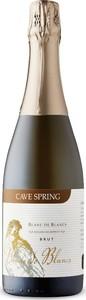 Cave Spring Blanc De Blancs Brut Sparkling, Traditional Method, VQA Niagara Escarpment, Ontario Bottle
