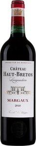 Château Haut Breton Larigaudiere 2014, Margaux Bottle