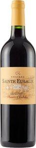 Château Sainte Eulalie Plaisir D'eulalie 2016 Bottle
