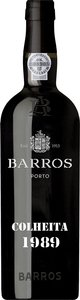 Barros Colheita 1989 Bottle