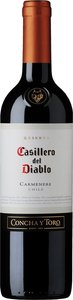 Casillero Del Diablo Reserva Carmenère 2017 Bottle