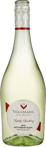 Villa Maria Lightly Sparkling Sauvignon Blanc 2016 Bottle