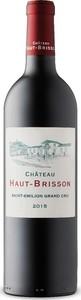 Château Haut Brisson 2015, Ac Saint émilion Grand Cru Bottle
