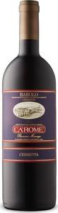 Ca' Romé Romano Marengo Cerretta Barolo 2012, Docg Bottle