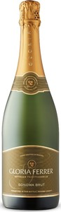 Gloria Ferrer Sonoma Brut, Traditional Method, Sonoma County Bottle