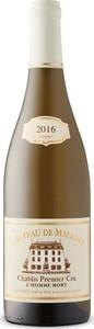 Château De Maligny Chablis Premier Cru Homme Mort 2016 Bottle