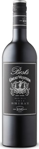Best's Bin No. 1 Shiraz 2015, Great Western, Victoria Bottle