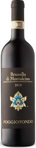 Poggiotondo Brunello Di Montalcino 2013, Docg Bottle