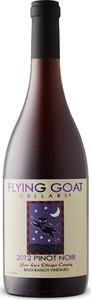 Flying Goat Cellars Pinot Noir 2012, Bassi Ranch Vineyard, San Luis Obispo County Bottle