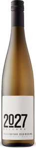 2027 Cellars Falls Vineyard Riesling 2016, VQA Vinemount Ridge, Niagara Peninsula Bottle