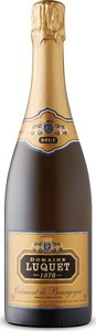 Domaine Luquet Crémant De Bourgogne, Traditional Method, Ap, Burgundy, France Bottle