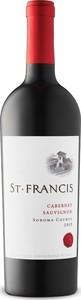 St. Francis Cabernet Sauvignon 2015, Sonoma County Bottle
