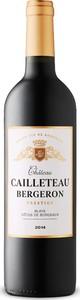 Château Cailleteau Bergeron Prestige 2014, Ac Côtes De Bordeaux   Blaye Bottle