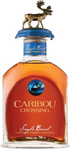 Caribou Crossing Single Barrel Canadian Whisky, Quebec Bottle