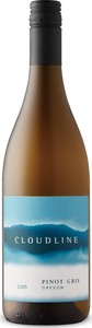 Cloudline Pinot Gris 2016, Willamette Valley Bottle