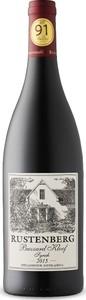 Rustenberg Buzzard Kloof Syrah 2015, Wo Simonsberg Stellenbosch Bottle