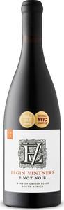 Elgin Vintners Pinot Noir 2015, Wo Elgin Bottle