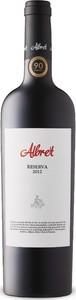 Albret Reserva 2012 Bottle