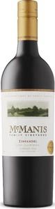 Mcmanis Zinfandel 2016, Certified Green, Lodi Bottle