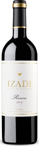 Izadi Reserva 2013 Bottle