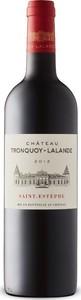 Château Tronquoy Lalande 2012, Ac Saint Estèphe Bottle