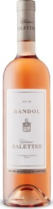 Château Salettes Bandol Rosé 2017, Ac Bandol Bottle