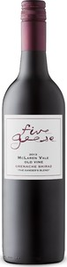 Five Geese Ganders Blend Old Vine Grenache/Shiraz 2013, Mclaren Vale, South Australia Bottle