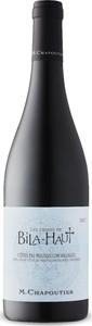 M. Chapoutier Les Vignes De Bila Haut Côtes Du Roussillon Villages 2016, Ac Bottle