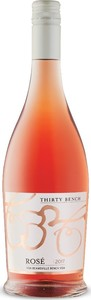 Thirty Bench Small Lot Rosé 2017, VQA Beamsville Bench, Niagara Peninsula Bottle