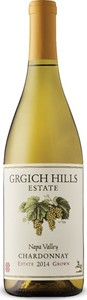 Grgich Hills Estate Grown Chardonnay 2014, Napa Valley Bottle