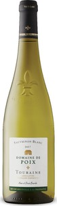 Domaine De Poix Touraine Sauvignon Blanc 2017, Ac Bottle