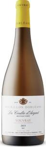 Bourillon Dorléans La Coulée D'argent Sec Vouvray 2015, Ac Bottle