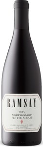 Ramsay Petite Sirah 2015, North Coast Bottle