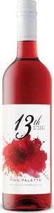 13th Street Pink Palette Rosé 2017, VQA Niagara Peninsula Bottle