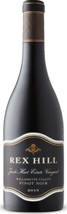 Rex Hill Jacob Hart Estate Vineyard Pinot Noir 2015, Willamette Valley Bottle