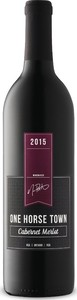 Dark Horse One Horse Town Cabernet Merlot 2015 Bottle