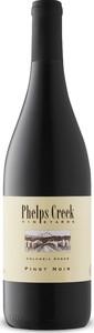 Phelps Creek Pinot Noir 2014, Columbia Gorge Bottle