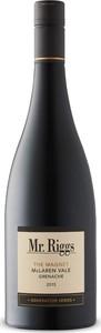 Mr. Riggs The Magnet Generation Series Grenache 2015, Mclaren Vale, South Australia Bottle
