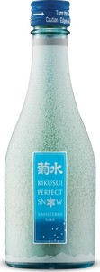 Kikusui Perfect Snow Nigori Sake (300ml) Bottle