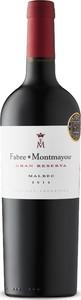 Fabre Montmayou Gran Reserva Malbec 2014, Mendoza Bottle