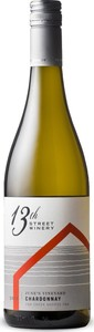 13th Street June's Vineyard Chardonnay 2016, VQA Creek Shores, Niagara Peninsula Bottle