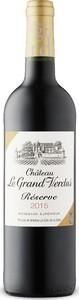 Château Le Grand Verdus 2015, Ac Bordeaux Supérieur Bottle