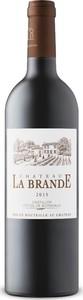 Château La Brande 2015, Ac Côtes De Bordeaux   Castillon Bottle
