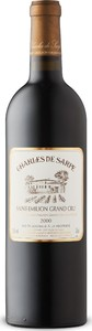 Charles De Sarpe 2000, Ac Saint émilion Grand Cru Bottle